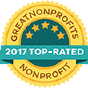 GreatNonprofits 2017 top rated nonprofit